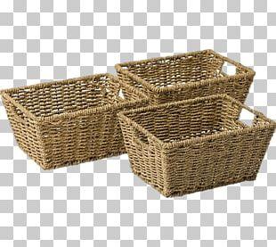 Basket Seagrass Argos Furniture Wicker PNG