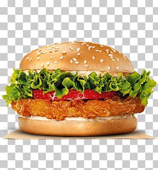 Hamburger Burger King Grilled Chicken Sandwiches Cheeseburger PNG