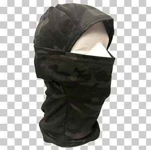 Balaclava MultiCam Hood Mask Camouflage PNG