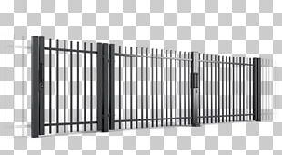 Fence Wicket Gate Guard Rail Metal PNG