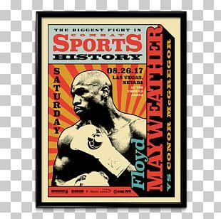 Floyd Mayweather Jr. Vs. Conor McGregor Marc J. Poster Las Vegas Boxing Pop-up Ad PNG