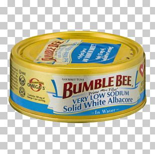 Albacore Ingredient Bee Fillet Tin Can PNG
