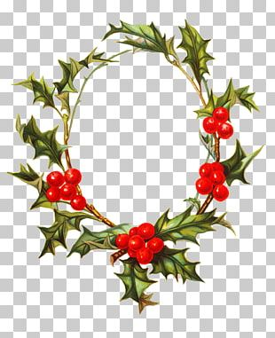 Borders And Frames Christmas Decoration Wreath PNG