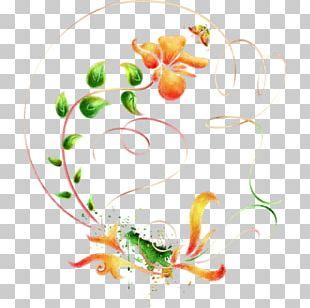 Floral Design PNG