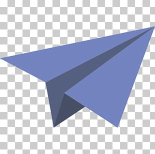 Paper Plane Airplane Icon PNG