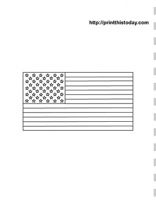 Page Coloring Book Flag Of The United States Child Drawing PNG