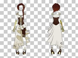 Costume Design Gown Pattern PNG