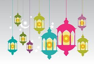Islam Oil Lamp Ramadan PNG