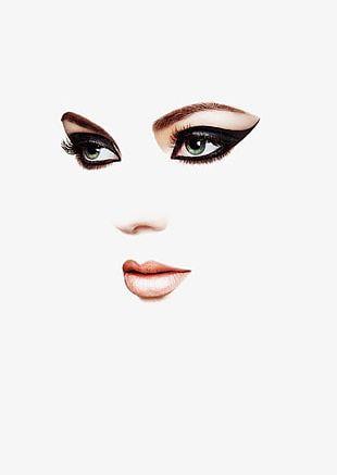 Makeup Woman Face PNG