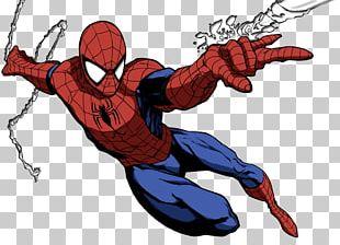 Spider-Man Comic Book Comics Rendering Superhero PNG