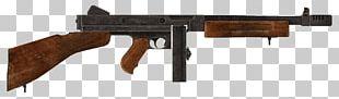 Fallout: New Vegas Thompson Submachine Gun .45 ACP Firearm PNG