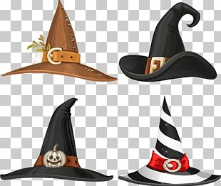 Witch Hat Buckle Stock Illustration PNG