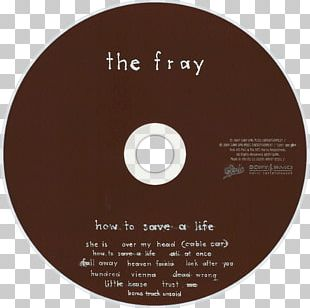 Compact Disc How To Save A Life The Fray Helios Album PNG
