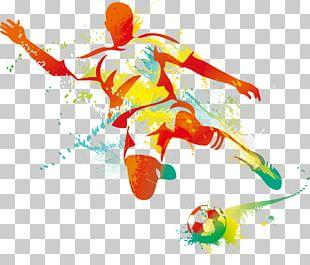 Football Player Kickball PNG