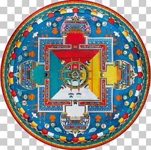 Tibetan Maṇḍalas Sand Mandala Thangka Buddhism PNG