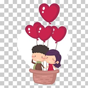 Valentine's Day Cartoon Heart PNG