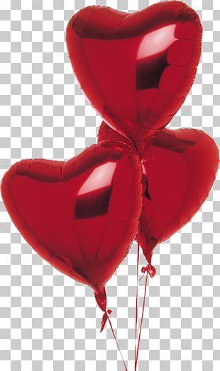 Balloon Heart DubaiFlowerDelivery.com Valentine's Day Flower Bouquet PNG