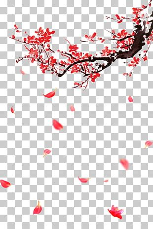 Plum Blossom Portable Network Graphics Graphics Design PNG