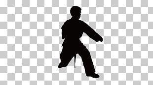 Silhouette Taekwondo Chinese Martial Arts Karate PNG