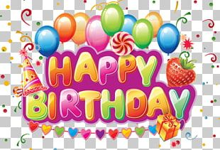 Birthday Cake Wish Greeting Card Letter PNG