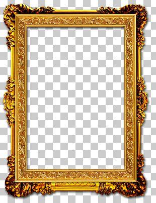 Frame Gold Frame PNG