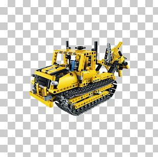 Bulldozer LEGO Technic 42028 Construction Set PNG
