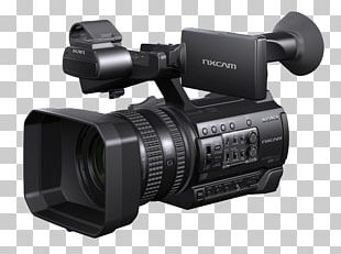 Professional Video Camera 4K Resolution Camcorder PNG