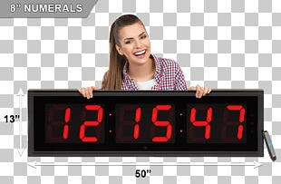 Alarm Clocks Display Device Digital Clock Timer PNG
