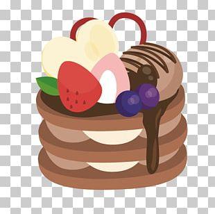 Chocolate Cake Torte Food PNG