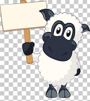 Sheep Goat Cartoon PNG
