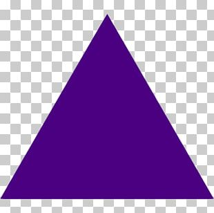 Triangle Geometry Violet Mulberry Geometric Shape PNG