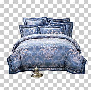 Bedding Bed Sheet Blanket Damask PNG