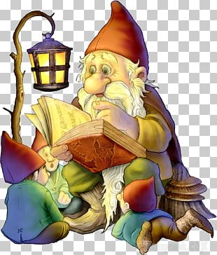 Fairy Tale Dwarf Gnome Duende PNG