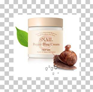 Mizon All In One Snail Repair Cream Cosmetics Skin Face PNG