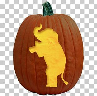Jack-o'-lantern Pumpkin Carving Stencil Pattern PNG