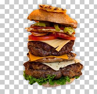 Buffalo Burger Cheeseburger Slider Fast Food Breakfast Sandwich PNG