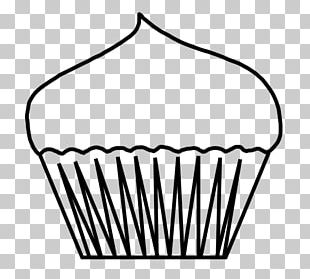 Cupcake Muffin Birthday Cake PNG