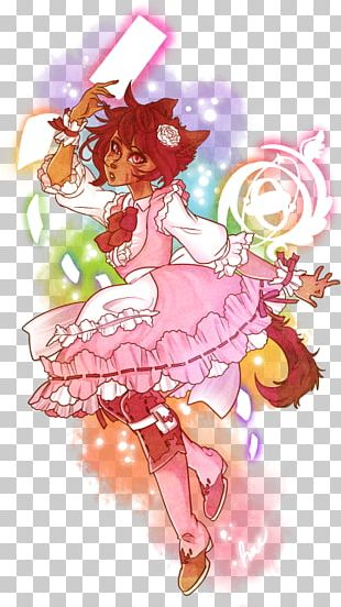 Magical Girl Fairy Mangaka Anime PNG