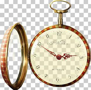 Pocket Watch Clock Designer PNG