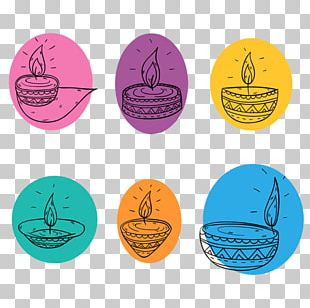 Watercolor Painting Hand Candle PNG