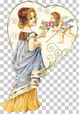 Love Heart Decoupage Valentine's Day Vinegar Valentines PNG