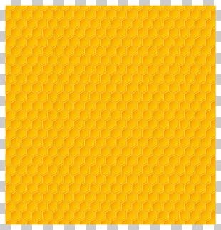 Yellow Pillow Motif Crystal Number PNG