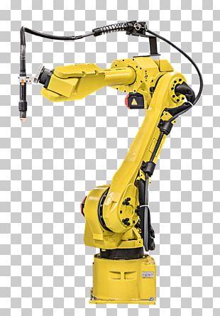 Robotics FANUC Plasma Cutting Industrial Robot PNG
