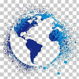 United States Earth World Map Globe PNG
