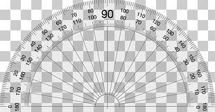 Protractor Ruler Angle Mathematics Circle PNG