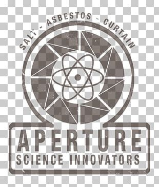 Logo Brand Science Font Aperture Laboratories PNG