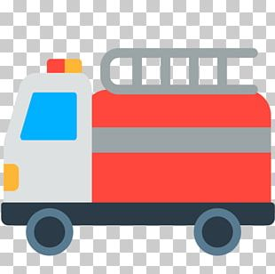 Motor Vehicle Car Fire Engine Emoji Firefighter PNG