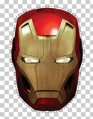 Iron Man Spider-Man Mask Superhero Party PNG