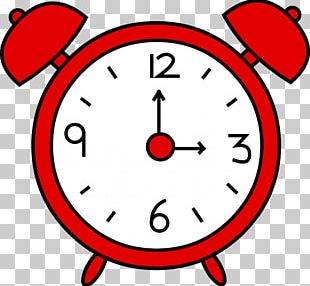Alarm Wall Clock Stock Photography PNG