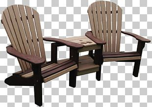 Table Garden Furniture Adirondack Chair PNG